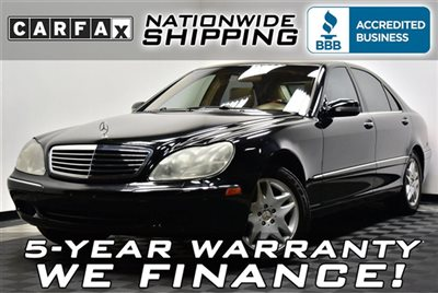 Mercedes-Benz : S-Class S500 Service Records Loaded Nationwide Shipping 5 Year Warranty Leather Sunroof M