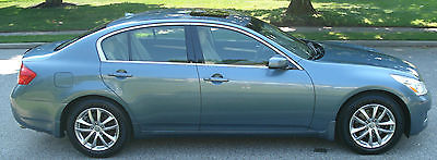 Infiniti : G35 ESTATE SALE! 2007 infiniti g 35 x awd 1 owner 112 k navigation htd sts bose cd new tires brakes