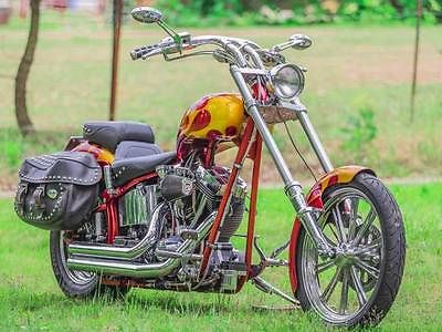 Custom Built Motorcycles : Chopper motorcycle custom chopper 2007 low miles like new chopper guys jessie james soft