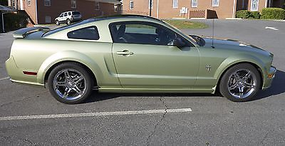 Ford : Mustang GT Supercharged Mustang GT Coupe, Prem Package, Legend Lime, Auto Tranny, Low Miles