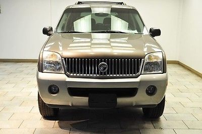 Mercury : Mountaineer Base Sport Utility 4-Door 2002 mercury mountaineer mechanic special 1 owner transmittion issues