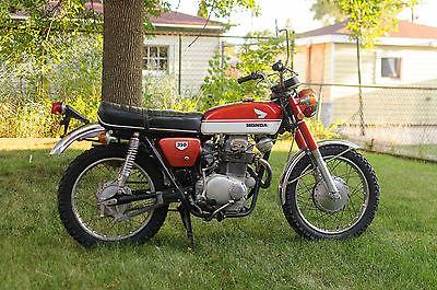 Honda : CB 1970 1971 honda cb 350 cb 350 red and white scrambler cafe racer