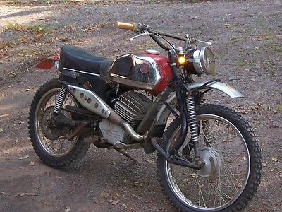 Other Makes : DKW  1973 dkw 125 enduro vintage motorcycle original owner