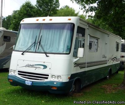 98 Damon Challenger Motor Home-Ready to Go