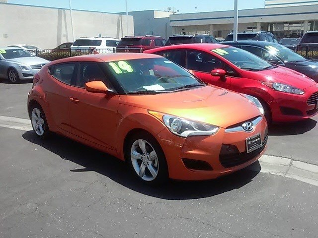 2014 HYUNDAI Veloster 3dr Coupe 6M w/Red Seats