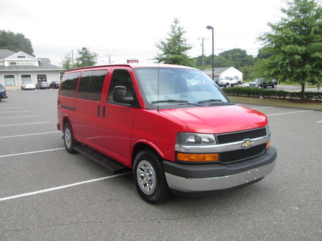 Chevrolet : Express AWD 1500 135 2011 chevy g 1500 lt awd 8 pass van 5.3 v 8 83 k 1 owner clean car fax awd warr