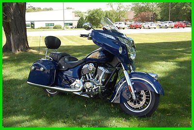Indian : Chieftain® 2014 indian chieftain springfield blue used