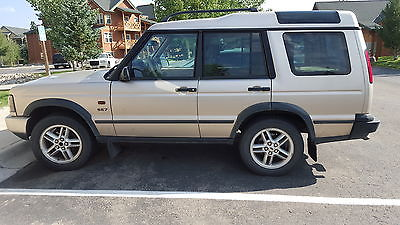 Land Rover : Discovery SE7 2003 land rover se 7 discovery