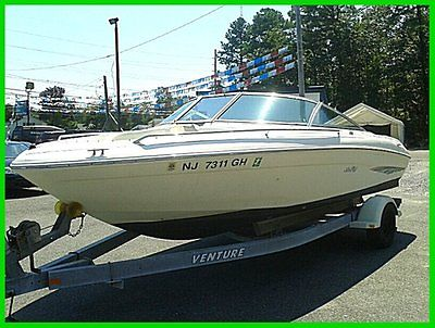 1998 Sea Ray 19' 190 Bowrider LOW RESERVE NJ NY PA CT FL MD 240 HP FIBERGLASS