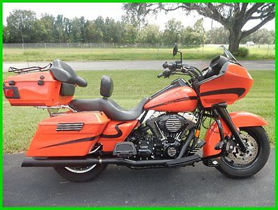 Harley-Davidson : Touring 2008 harley davidson road glide tour box loaded murdered out led headlights