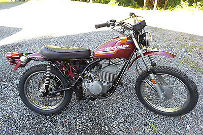 Harley-Davidson : Other 1974 harley davidson sx 175 sx 175 enduro amf