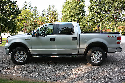 Ford : F-150 FX4 2007 ford f 150 fx 4 super crew 5.5 box 5.4 l superb condition
