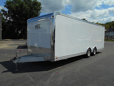NEW ATC QUEST CH205 ALL ALUMINUM 8.5x24 RACE CAR HAULER TRAILER with A/C