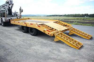 Heavy Duty Commercial Construction HD Trailer w/ Ramps
