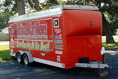 Wells Cargo Car and Vendor and Display trailer