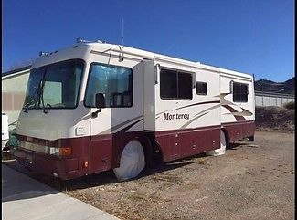 1999 Beaver Monterey Trinidad Diesel Pusher Class A RV Coach Motorhome Slide Out