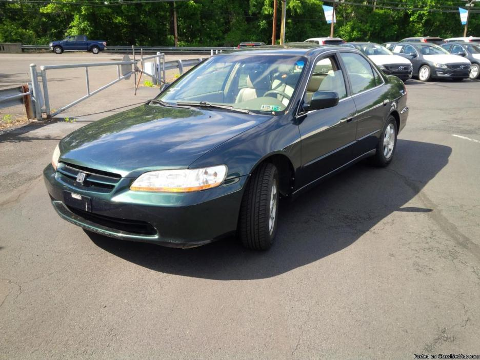 Honda accord 1999 cars for sale in philadelphia pennsylvania for Honda accord old model