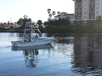 Mako 23 Inboard Center Console with Tower and 2nd station