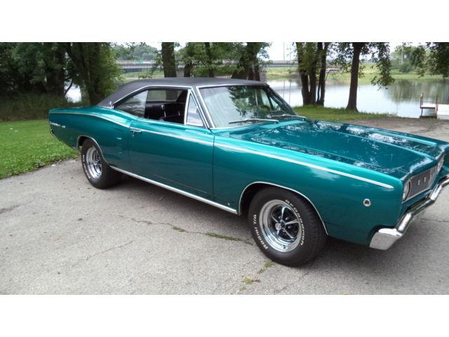 Dodge : Coronet 440 1968 dodge coronet 440 big block 4 speed frame off restored