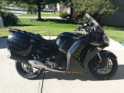 Kawasaki : Other 2014 kawasaki zg 1400 concours abs keyless only 65 miles on bike