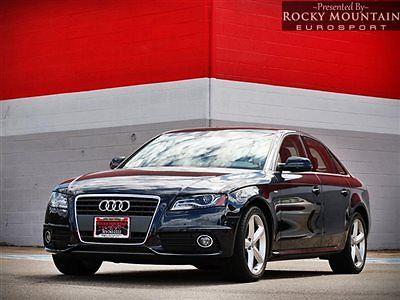 Audi : A4 4dr Sedan CVT FrontTrak 2.0T Premium Plus 2012 audi a 4 sedan cvt fronttrak 2.0 t one owner car