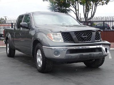 Nissan : Frontier SE Crew Cab 2007 nissan frontier se crew cab damaged repairable salvage perfect project l k