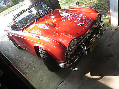 Triumph : Other Convertible 1962 triumph tr 4 4 speed front disc brakes some upgrades