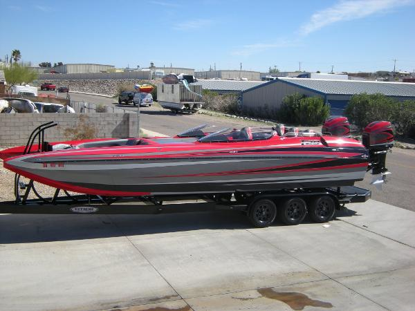 2012 DAVES CUSTOM BOATS F29 BR OUTBOARD