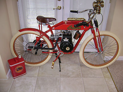 Custom Built Motorcycles : Other BEAUTIFUL CUSTIOM BUILT INDIAN BOARD TRACK RACER/3.5 HP/1890 HEADLIGHT/GIFT/MORE