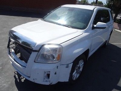 GMC : Terrain SLE 2013 gmc terrain sle repairable salvage wrecked project save damaged fixable