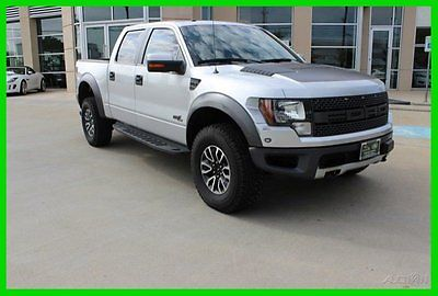 Ford : F-150 SVT Raptor 2012 svt raptor used 6.2 l v 8 16 v automatic 4 x 4 pickup truck moonroof