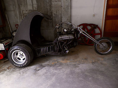 Custom Built Motorcycles : Other Custom V8 Trke
