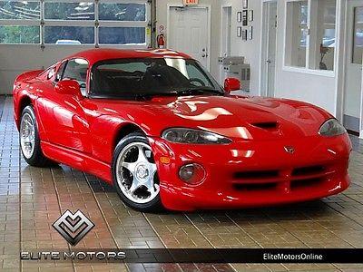 Dodge : Viper GTS 1997 dodge viper gts 1 owner service records rare