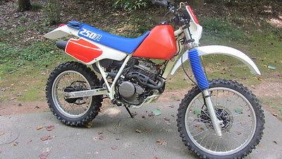 Honda : XR 1986 honda xr 250 r