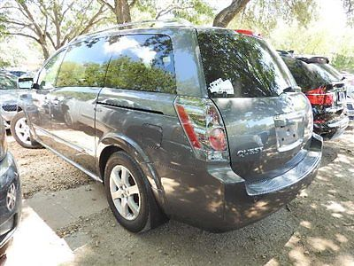 Nissan : Quest 4dr SE 4 dr se nissan quest 3.5 se van automatic gasoline 3.5 l v 6 cyl smoke metallic