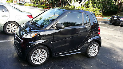 Other Makes : Fortwo Passion Coupe 2-Door 2011 2012 2013 2014 smart fortwo passion black mint still under warranty 18 k mi