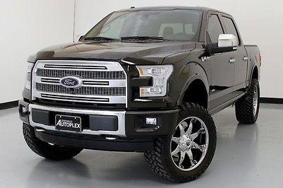 Ford : F-150 Platinum 4x4 Pro Comp Lift 22 Inch Fuel Wheels 15 ford f 150 platinum 4 x 4 pro comp lift 22 inch fuel wheels