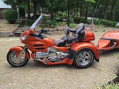 Honda : Gold Wing 02 honda goldwing trike 1800 low miles with matching trailer very nice must see