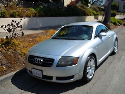 Audi : TT quattro 2004 silver audi tt quattro