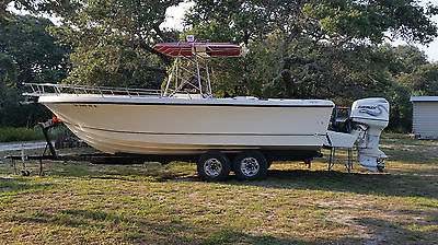 1990 Pro-Line 250 Pro Center Console with twin 2000 Evinrude 200hp for Sale.!