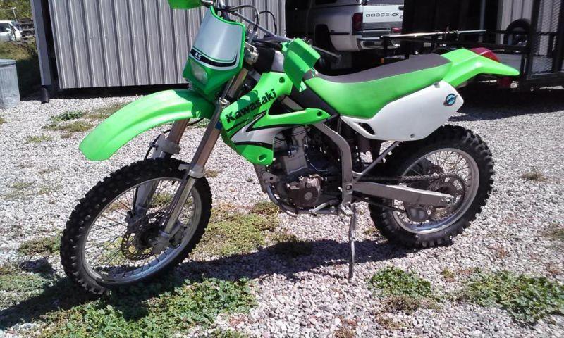 kawasaki KLX300R dirtbike