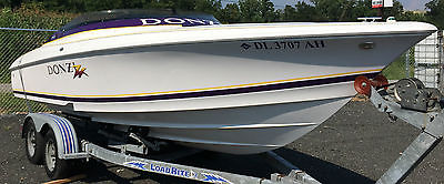 2000 Donzi 22zx High Performance Boat w/ Trailer & Lots of EXTRAS!!!