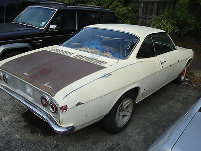 Chevrolet : Corvair Corsa 1965 chevy coupe 6 cylinder rwd manual