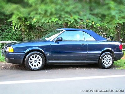 Audi : Cabriolet Convertible 1996 audi cabriolet florida rust free beauty