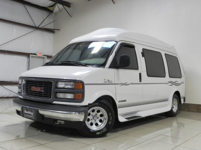 GMC : Savana CONVERSION GMC SAVANA 1500 ONE OWNER TRAIL MASTER HITOP CONVERSION VAN 30K MILES TV/DVD