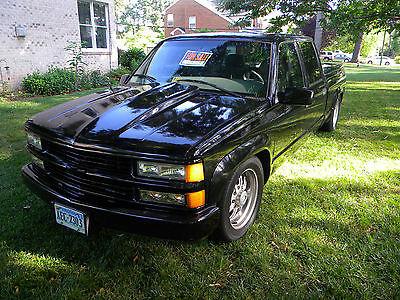 Chevrolet : C/K Pickup 2500 C2500 2000 c 2500 chevrolet custom lowered 4 door crew cab 454 engine leather interio