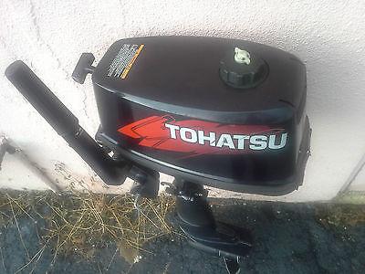 Tohatsu 5hp 2 stroke outboard motor M5B-D