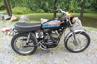 Harley-Davidson : Other 1974 harley davidson amf z 90 z 90 two stroke street legal with title