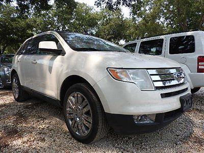Ford : Edge LIMITED FORD EDGE LIMITED 4 dr Sedan Automatic Gasoline 3.5L V6 Cyl WHITE