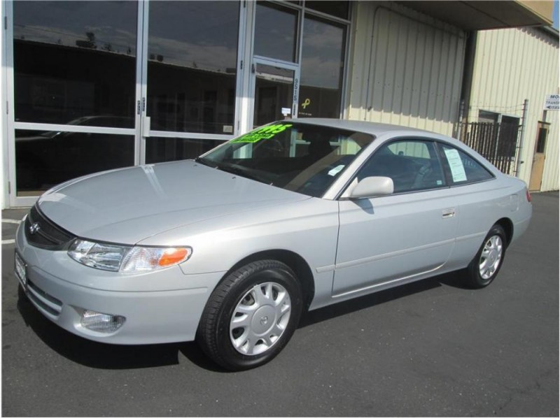 2001 Toyota Camry Solara 2dr Cpe SE Manual